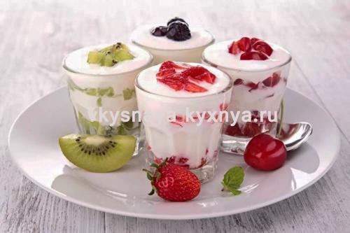 """Фруктовый десерт """"Карнавал"""""""