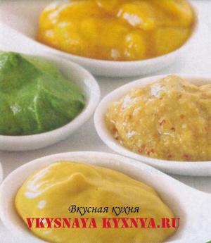 Горчично-мятный соус
