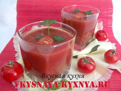 Холодный суп из помидоров гаспачо. Как приготовить в домашних условиях, рецепт с фото