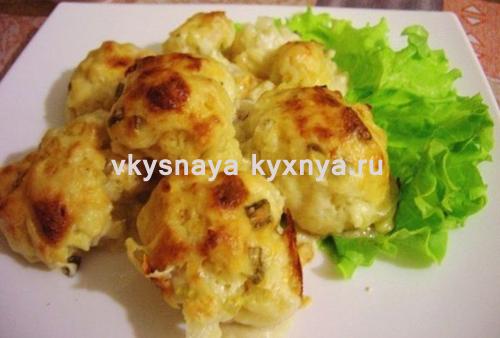 Простой рецепт цветной капусты в духовке