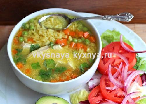 Рецепт быстрого и вкусного супа на даче