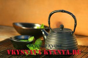Марокканский мятный чай.