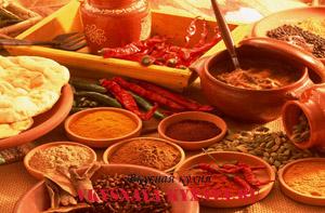 Блюда индийской кухни.