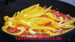 Индийское жаркое с овощами и бананом