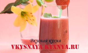 Рецепты полезных и вкусных коктейлей