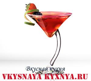 Рецепты новогодних коктейлей. Коктейль Кир Рояль.