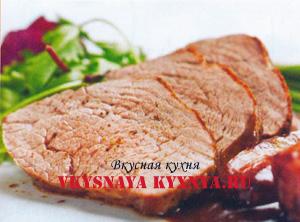 буженина из свиной вырезки в духовке рецепт