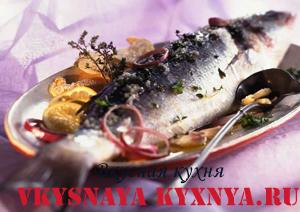 Кухня Туниса. Рецепт фаршированной запеченной рыбы по-тунисски
