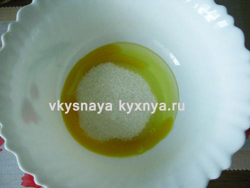 Яйца с песком и лимонным соком