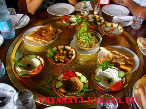 Кухня Кипра. Мезе.