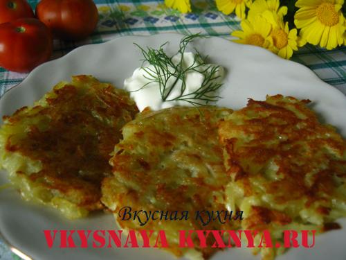 рецепт драников из картошки классические с фото пошагово