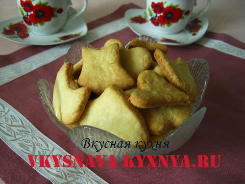 Рецепт рассыпчатого майонезного печенья