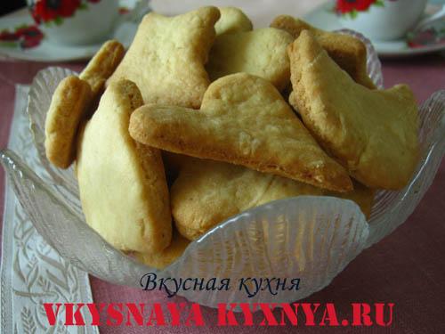 Печенье из майонеза.
