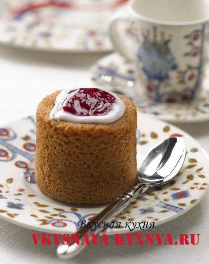 Пирожное Рунеберга к чаю