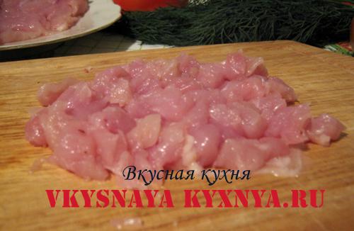 Измельченное мясо
