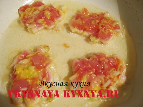 рубленные куриные котлеты рецепт с фото пошагово на сковороде