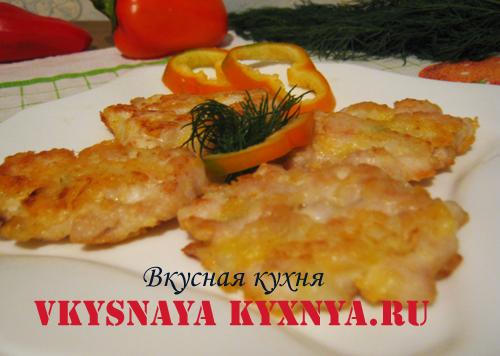 Куриные рубленные котлеты с сыром, рецепт с фото пошагово