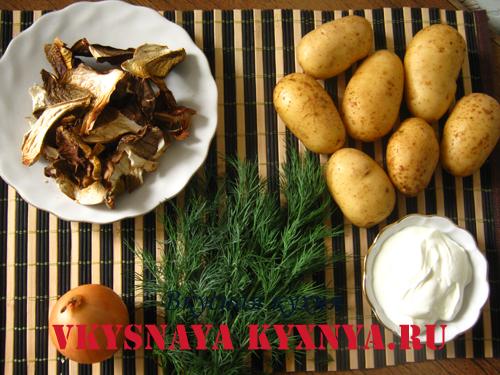 рецепт приготовления грибного супа из белых грибов