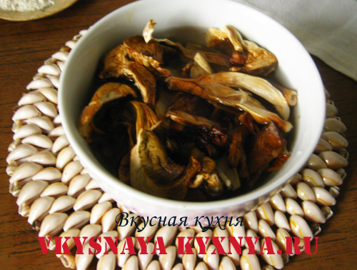 Отбивные из свинины с грибами