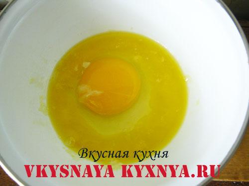Яйцо в топленом масле