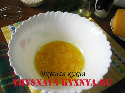 Яйца с сахаром и солью