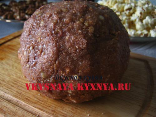 Готовое тесто для орехового печенья