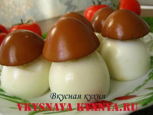 Фаршированные яйца закуска