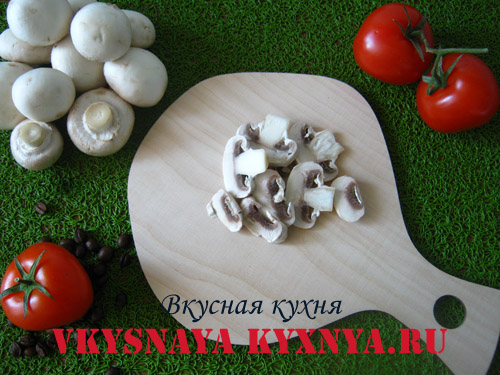 Форель, фаршированная белыми грибами и шпинатом, пошаговый рецепт с фото