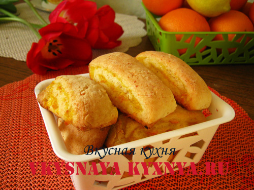 Нежное домашнее печенье с апельсиновой начинкой, рецепт с фото