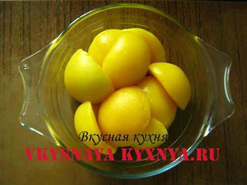 Печенье из бездрожжевого слоеного теста «Персики»