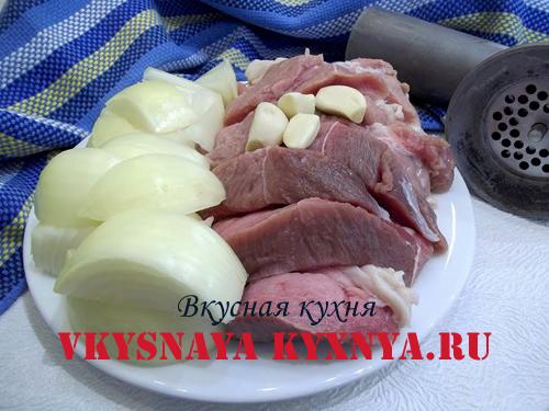 Мясо для тефтелей