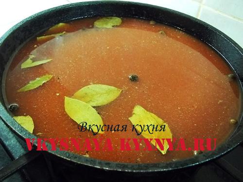 Томатный соус для тефтелей