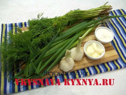 Белый чесночный соус ингредиенты