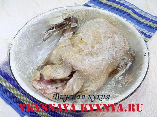 Утка в соусе