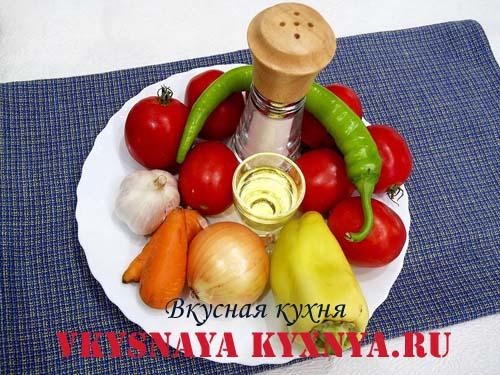 Аджика по-абхазки - традиционный рецепт , ингредиенты
