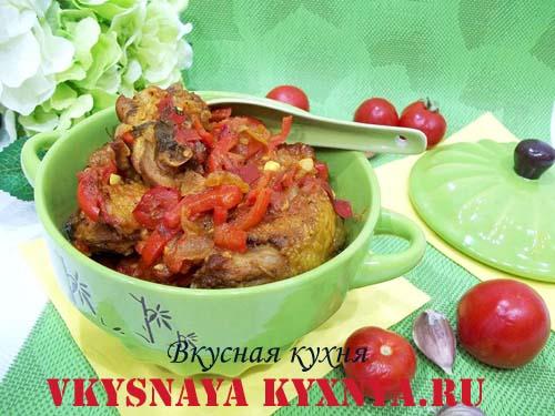 Как приготовить вкусное грузинское блюдо чахохбили из курицы, рецепт с фото пошагово