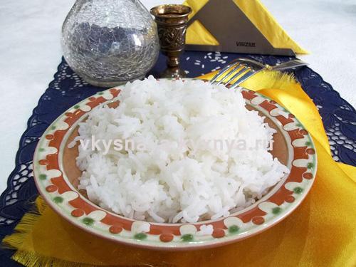 Тарелка рассыпчатого риса