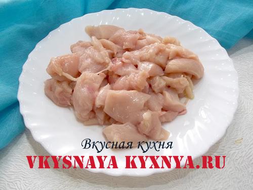 Рубленое куриное филе