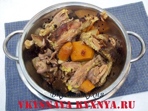 Как приготовить холодец из курицы и свиных ножек
