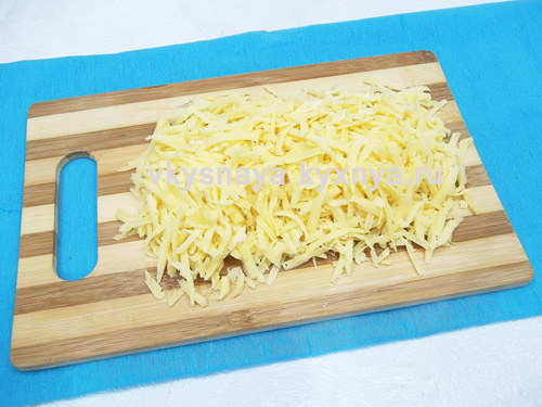 Натертый на терке сыр