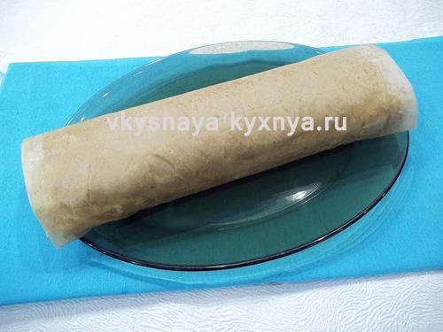 Печеночный паштет из говяжьей печени с коньяком