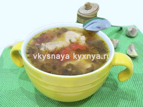 Легкий овощной суп на курином бульоне. Раскрываем секреты вкусного супчика