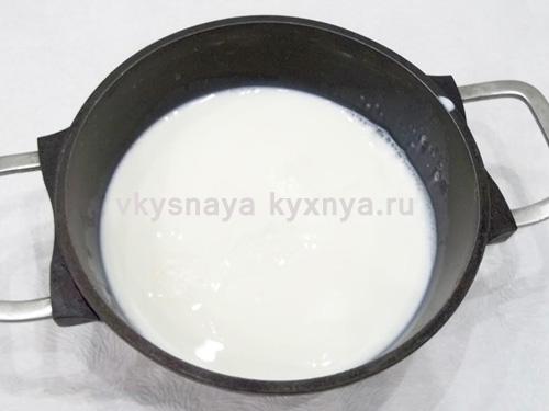 Подогревание молока