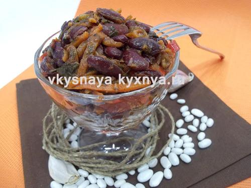 Лобио из красной фасоли по-грузински, рецепт с пошаговым фото