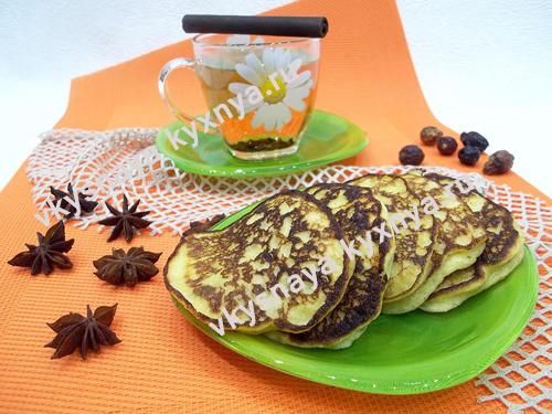 Оладьи на кефире с бананом, рецепт с пошаговым фото