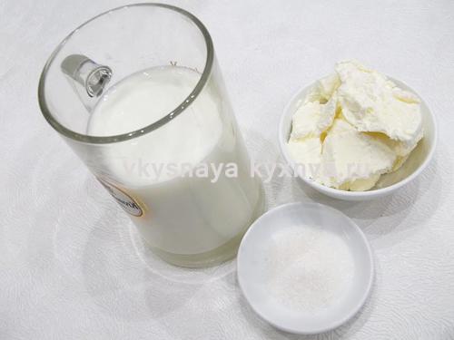 Молочный коктейль ингредиенты