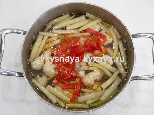 Добавление болгарского перца