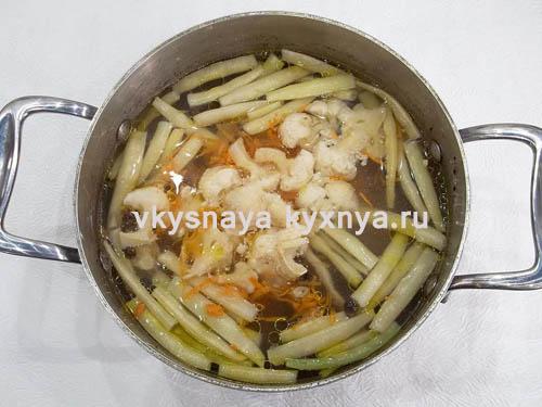 Суп из спаржи с морепродуктами, пошаговый рецепт с фото