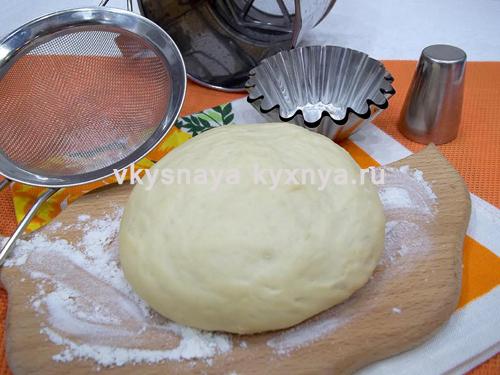 Пышное дрожжевое тесто