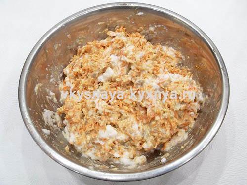 Тесто для морковных оладий